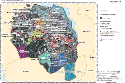mapa de fernao ferro Guarda Noturno | Câmara Municipal do Seixal mapa de fernao ferro