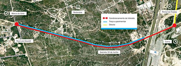 fernao ferro mapa Pavimentação na Av. 10 de Junho em Fernão Ferro | Câmara Municipal  fernao ferro mapa