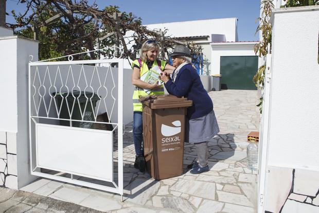 contentores para resíduos urbanos biodegradáveis