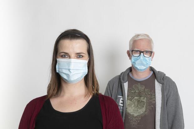 Máscaras para a população