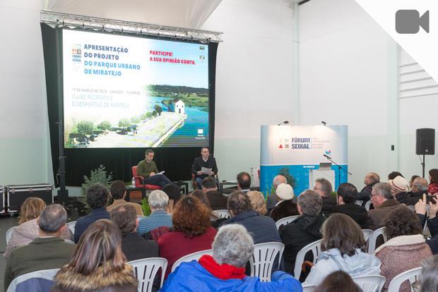 Sessão do Fórum Seixal em Miratejo