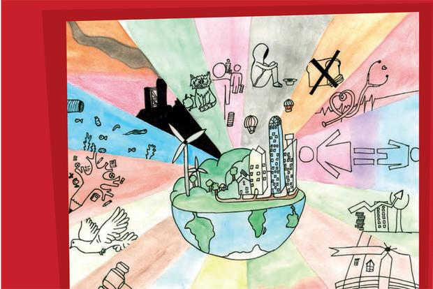 Ilustração do Jornal Interescolar 2019