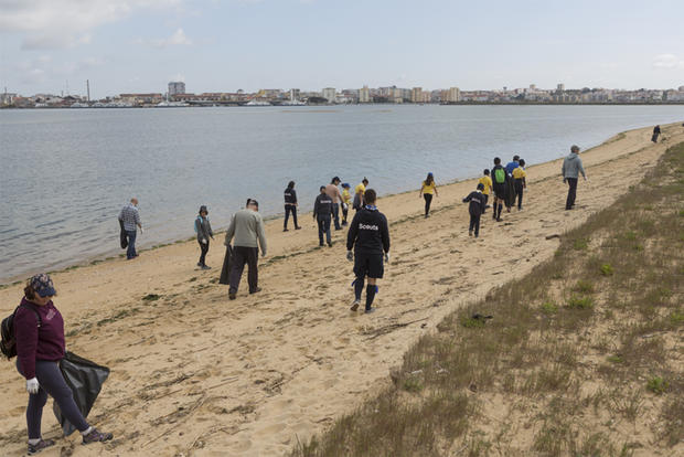 Limpeza Praia da Velha