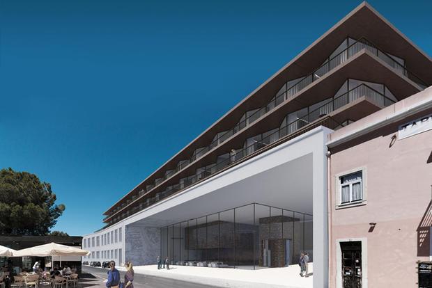 Entrada Hotel Mundet - Imagem de projeto