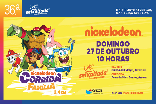Corrida da Família Nickelodeon