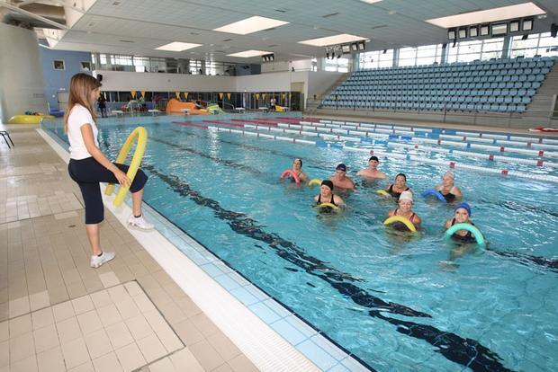 Atividade piscina