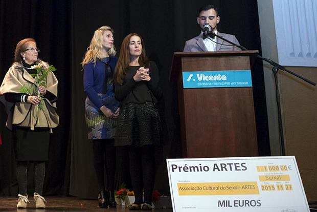 Entrega do prémio Artes