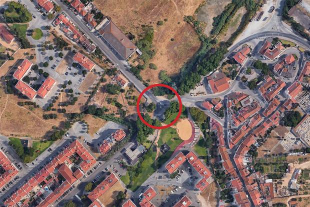 Mapa Aldeia de Paio Pires