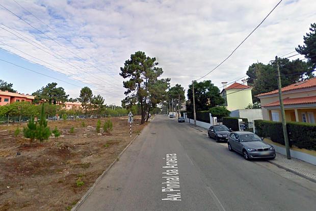 Avenida Pinhal da Aroeira, em Verdizela, Corroios