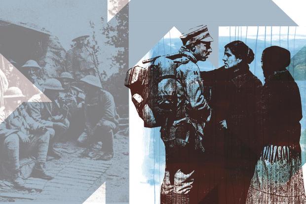 Imagem da exposição Seixal 1914-1918: o Outro Lado da Guerra