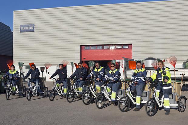Triciclos elétricos