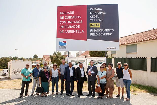 A Autarquia e a Santa Casa da Misericórdia local vão pedir uma reunião ao ministro da Saúde para relembrar a necessidade urgente de se avançar com a construção da Unidade de Cuidados Continuados de Arrentela.