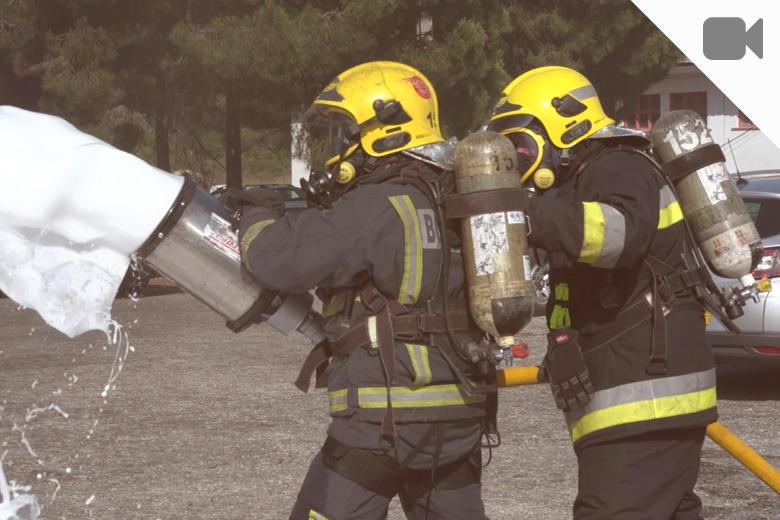 Vídeo bombeiros