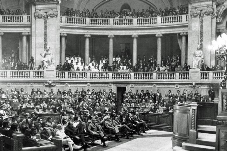 Inauguração da Assembleia Constituinte