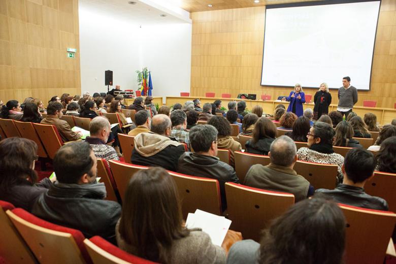 Sessão nos Serviços Centrais