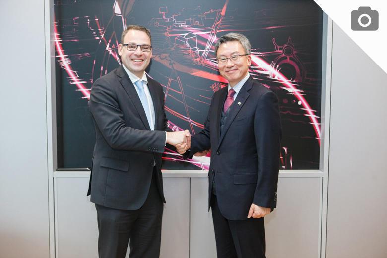 Presidente da CMS e embaixador da República da Coreia
