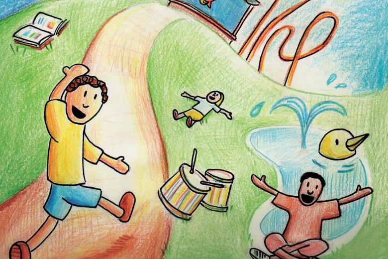 Cartaz da Festa da Criança