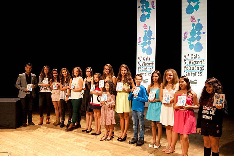 Entrega de prémios da Gala S. Vicente dos Pequenos Cantores em 2013