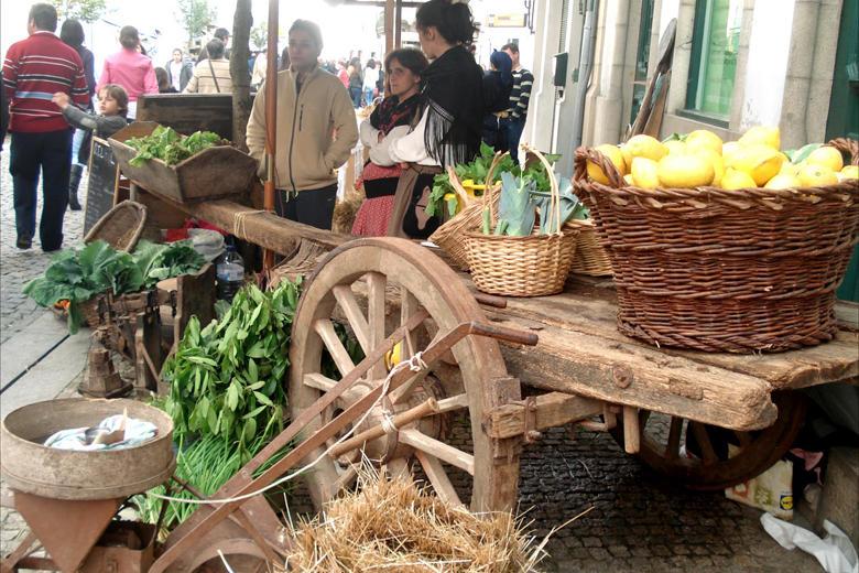 Mercado à moda antiga