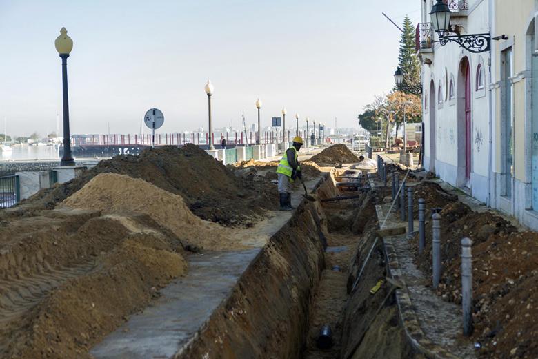 Obras no Núcleo Urbano Antigo do Seixal