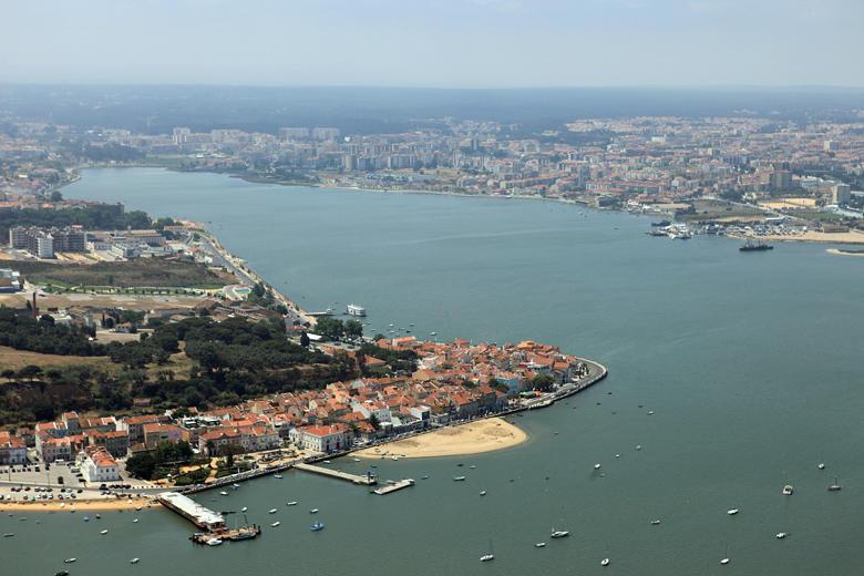 Vista aérea do concelho do Seixal
